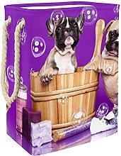 Caja De Almacenaje Bulldogs Franceses Cesta De