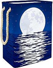 Caja De Almacenaje Reflejo De La Luna Cesta De