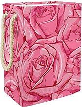 Caja De Almacenaje Rosa Rosada Cesta De