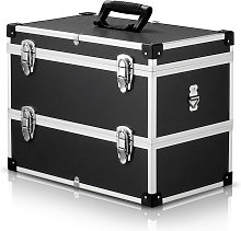 Caja de herramientas portatil multiusos de 2 capas