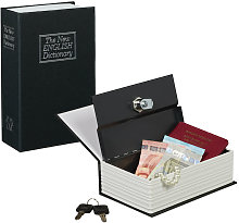 Caja fuerte con llaves, pequeña, libro de