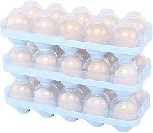 Cajas de soporte para huevos, contenedores de