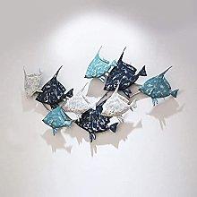 CAJOLG Decoración de Pared de Metal, Metal