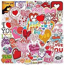 Calcomanías para el día de San Valentín con