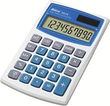 Calculadora IBICO 082X, blanco/azul