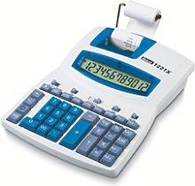 Calculadora IBICO 1221X, blanco/azul