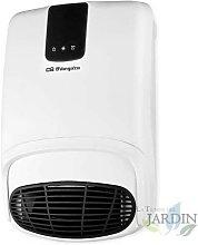 Calefactor de pared para baño Orbegozo. Dos