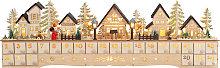 Calendario de Adviento LED Ciudad de Navidad