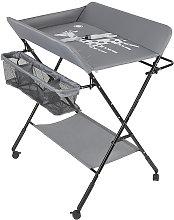Cama de cuna extraíble, mesa para pañales, mesa