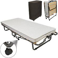 Cama de invitados / Cama plegable con colchón y