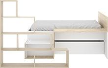 Cama Dormitorio Infantil con Escritorio