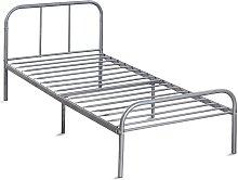Cama individual, estructura de cama de metal