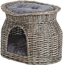 Cama para animales gris 50x35 cm SALBAS
