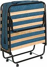 Cama plegable individual con colchón Ergoform de