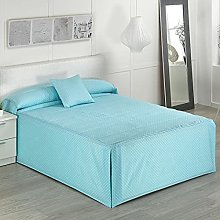 Camatex - Edredón Topo Cama 135 - Color Azul