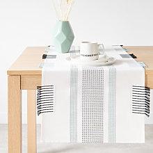 Camino de mesa de algodón 48 x 150