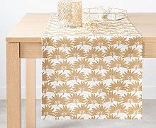 Camino de mesa de algodón ecológico con