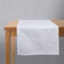 Camino de mesa Satén Blanco 55x135 cm