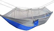 Camping Hamaca 260x140cm Doble Personas Mosquito