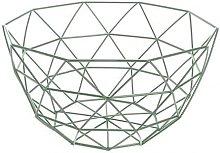 Canasta geométrica Cesta de la fruta