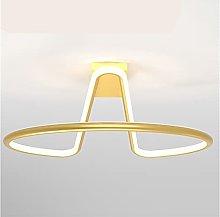candelabros de techo Lámpara de cama ligera de