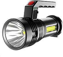 Canjerusof Linterna LED Linterna recargable