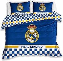 Carbotex Real Madrid - Juego de cama (220 x 200 +
