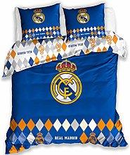 Carbotex Real Madrid - Juego de Cama (Funda de