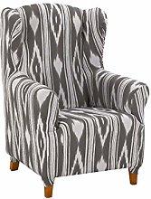 Cardenal Textil Islas Funda sillón, Gris, Orejero