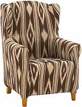 Cardenal Textil Islas Funda sillón, Marron,
