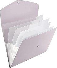 Carpeta de archivos expansible, tamaño A4,