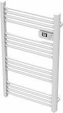 Carrera - Radiador toallero eléctrico 500W blanco
