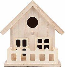 Casas de pájaros, nidos de madera para pájaros,
