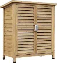 Caseta exterior de almacenamiento Outsunny