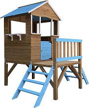 Casita Infantil de Madera Outdoor Toys Blue Melody