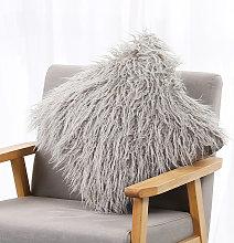 Caso de piel de imitacion de almohada larga suave
