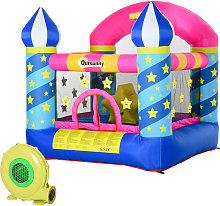 Castillo Hinchable para Niños con Cama de Salto y