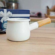 Cazo antiadherente pequeño para leche, té,
