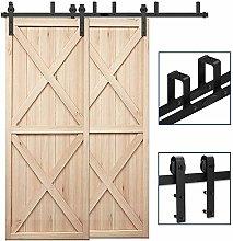 CCJH 182cm(6FT) Kit de guía para puerta corredera