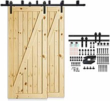 CCJH 201cm(6.6FT) Kit de guía para puerta