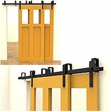 CCJH 213cm(7FT) Kit de guía para puerta corredera