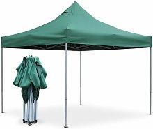 Cenador plegable Premium Apertus 3x3 m - Verde
