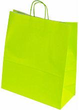 Cepedano - Bolsa de Papel con Asa Rizada Verde