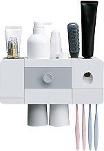 Cepillo de dientes con pasta de dientes automatico
