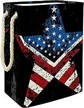 Cesta de Almacenamiento Bandera de américa Cesto