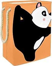 Cesta de Almacenamiento Panda Cesto de Popa Sucia