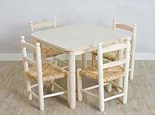 Cesteria Aparici Pack Ahorro: Mesa y Cuatro sillas