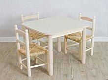 Cesteria Aparici Pack Ahorro: Mesa y Tres sillas
