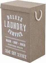Cesto de ropa en color marrón 619005 | marrón -