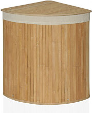 Cesto Ropa Bambú Esquinero - Trends Home Selection